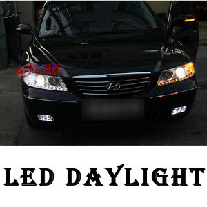 LED Eye Line Daylight 2Way DIY Kit 2p For 06 07 08 09 10 Hyundai Azera TG
