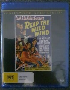 Reap The Wild Wind (Blu-Ray, 1942) Brand New Sealed