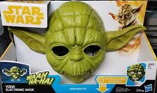 Star Wars Han Solo Story ELECTRONIC JEDI MASTER YODA MASK PROP REPLICA IN STOCK