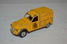 Dinky toys  562H Citroen 2CV ANWB very scarce Sticker version Selten Rare