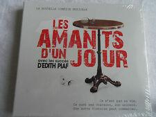 CD COMEDIE MUSICALE  LES AMANTS D' UN JOUR AVEC LES SUCCES D'EDITH PIAF