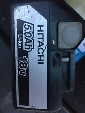 Hitachi BSL1850 Slide Battery Pack 18 Volt 5.0Ah Li-Ion great condition year2015