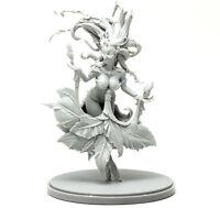 █ 50mm Resin Kingdom Death Flower Witch Unpainted Unbuild WH069