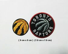 Toronto Raptors Sport Logo Embroidery Patch Iron and sewing on Clothes;
