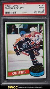 1980 Topps Hockey Wayne Gretzky #250 PSA 9 MINT