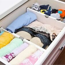 Retractable Drawer Dividers Storage Boxes Closet Organizers Bra Underwear  AUShip
