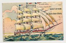 Kleinformat Sammler Motiv-Ansichtskarten aus Frankreich mit Schiff & Seefahrt