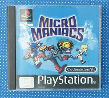Micro Maniacs (Sony PlayStation 1, 2000, Keep Case)
