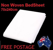 100 units of Non-woven Disposable Bedsheet Fabrics Medical Bed Cover  70 X 240cm