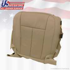 2007 2008 2009 Ford Expedition Eddie Bauer Driver Bottom Leather Seat Cover Tan