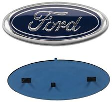"""2004-2016 Ford F-150 F-250 FRONT GRILLE or REAR TAILGATE 9"""" Dark Blue Emblem"""