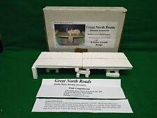 2d960635716 GREAT NORTH ROADS DIORAMA ACCESSORIES WOODEN ASSAULT BRIDGE BOXED (BS1515)