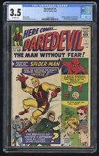 Daredevil #1 CGC 3.5 (Marvel 4/64) Silver Age Key ~ 1st app, origin of Daredevil