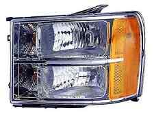 GMC Sierra 1500 / 2500 / 3500 2011 2012 2013 left driver headlight light