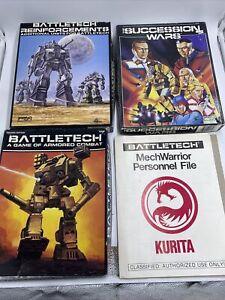Battletech,SuccessionWar,reinforcements(FASA, 1987) 3 Boxes