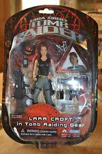 "6"" Lara Croft in Tomb Raiding Gear Tomb Raider Playmates action figure BNIB"