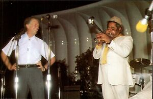 """Presidents: Jimmy Carter with Dizzy Gillespie, """"Sweet Georgia Brown"""""""