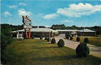 Marietta Georgia~Lamar Motel~1950s Postcard