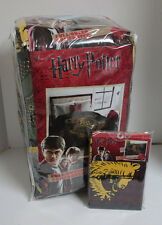 Harry Potter Hogwarts Crest Bedding Blanket/Comforter Pillowcases Set Full/Queen