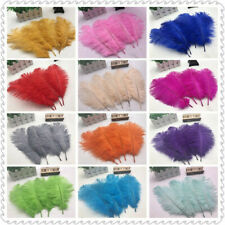 5 pcs high quality natural ostrich feather 6-12 inches / 15-30 cm 16 Colors