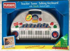 Playskool Teachin' Tunes Talking Keyboard PS-740 1995 - NEW RARE