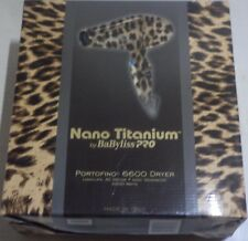 BABYLISS NANO TITANIUM PORTOFINO 6600 DRYER 2000 Watts 6 Heat & Speed Settings
