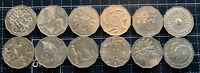 AUSTRALIAN STANDARD 50 CENT COIN COMMEMORATIVE SET - TOTAL 12 COINS