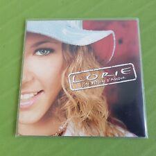 Lorie cd single promo J'ai besoin d'amour