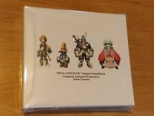 Final Fantasy IX (9) original soundtrack OST 4CD-NEUF et scellé