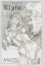 Angel Spotlight Illyria (2006) IDW Rare Retailer Incentive Sketch Cover VF/NM
