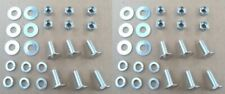 12 HIGH QUALITY ST STL BUMPER BOLTS/NUTS! 1950-70's GM BUICK CADILLAC CHEVY OLDS