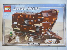 Lego 10144 Star Wars SANDCRAWLER toy set COMPLETE BOXED 2005 Gonk+Owen+Jawas++++