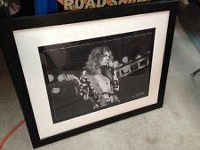Led Zeppelin Photograph Giclee Robert Plant James Fortune Print Art Rare 47/275