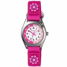 Fabric/Canvas Strap Round Children Wristwatches