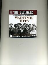 THE ULTIMATE WARTIME HITS - VERA LYNN GERALDO GRACIE FIELDS - 2 CDS - NEW!!