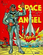 Vintage Reprint - Space Angel Coloring Book Sampler - Reproduction