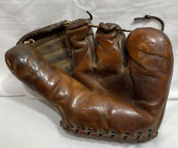 1950's Rawlings St Louis Playmaker PM 9 Baseball Glove Deep Well Patent 2311S
