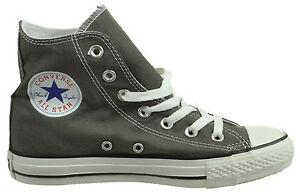 Converse Chuck Taylor All Star Seasonal High Top Unisex Shoes Charcoal 1j793