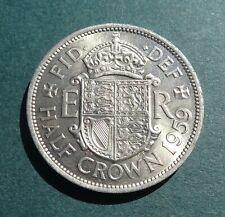 More details for 1959 elizabeth ii, half crown, high grade, type ii obverse unc