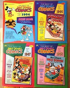 THE BEST OF WALT DISNEY COMICS 1934 1944 1947 1952 MICKEY MOUSE DONALD DUCK BARK