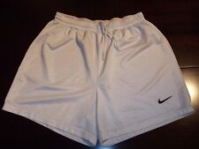 NIKE Runningshorts Jogginghose Gr. L Pacer Laufhose Fitness Racer Gym Club weiß