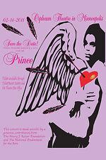 Prince : Valentine's Day Concert Poster Minneapolis 2011