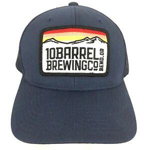 10 Barrel Brewing Company Patch Hat Beer Logo Mesh Snapback Trucker Baseball Cap