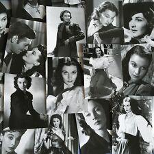 Lots 30 pcs Vivien Leigh Postcard Classic Black & White Photos Post Cards Bulk