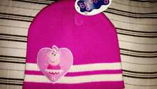 PEPPA PIG PINK TODDLER BEANIE HAT NEW!