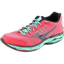 Zapatillas deportivas de mujer de tacón medio (2,5-7,5 cm) de color principal rosa