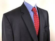 Jos A Bank Midnight Navy 2 Button Suit Jacket Blazer Mens 50R Vented 100% Wool