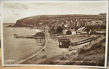 Irish Rppc Postcard Promenade Whitehead Antrim Coast Northern Ireland Real Photo
