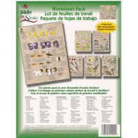 Donna Dewberry One Stroke Worksheet Paint Reusable Instruction Pack Painting