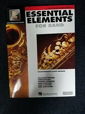 Essential Elements For Band Alto Saxophone Book 2 Interactive